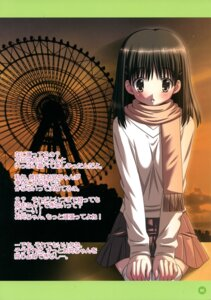 Rating: Safe Score: 6 Tags: imouto_date_~hisoka_na_kataomoi~ ooizumi_daisaku sweater tagme thighhighs User: fireattack