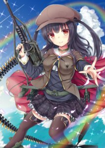 Rating: Safe Score: 48 Tags: gun seifuku tfx2 thighhighs User: KazukiNanako