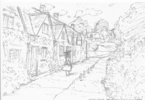 Rating: Safe Score: 9 Tags: landscape monochrome sketch violet_evergarden violet_evergarden_(character) User: tuyenoaminhnhan