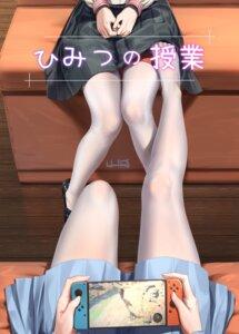 Rating: Questionable Score: 57 Tags: bondage feet haneru pantyhose seifuku skirt_lift yuri User: Dreista
