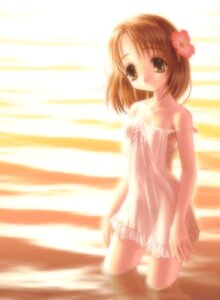 Rating: Questionable Score: 21 Tags: dress goto-p see_through summer_dress User: By_SNK