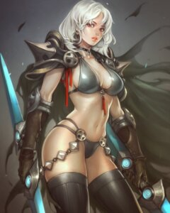 Rating: Safe Score: 35 Tags: armor bikini_armor cleavage ozo_stato thighhighs weapon User: Mr_GT
