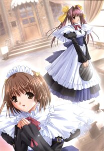 Rating: Safe Score: 6 Tags: chocolat_-maid_cafe_curio- maid manai_misato nekonyan yuki_suzu User: fireattack