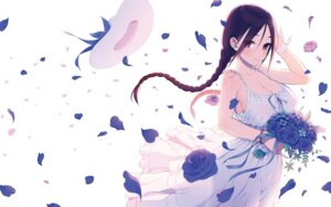 Rating: Questionable Score: 69 Tags: cleavage dress erect_nipples lunch no_bra summer_dress wallpaper User: hiroimo2