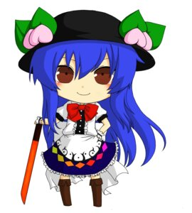 Rating: Safe Score: 3 Tags: aisha chibi hinanawi_tenshi touhou User: Radioactive