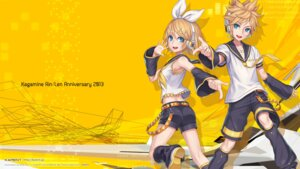Rating: Safe Score: 13 Tags: 2d headphones kagamine_len kagamine_rin vocaloid wallpaper User: ayura97