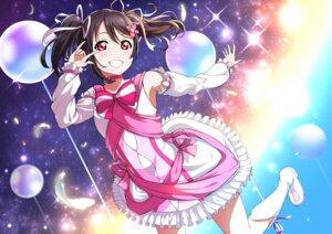 Rating: Safe Score: 13 Tags: dress love_live! skirt_lift takuwanko yazawa_nico User: saemonnokami