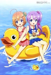 Rating: Safe Score: 37 Tags: bikini nishimura_rie re:stage!_project shikimiya_mana swimsuits tsukisaka_sayu wet User: drop