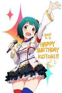 Rating: Safe Score: 25 Tags: ayano_yuu otonashi_kotori the_idolm@ster thighhighs User: saemonnokami