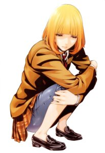 Rating: Safe Score: 41 Tags: hiramoto_akira midorikawa_hana prison_school seifuku User: Radioactive