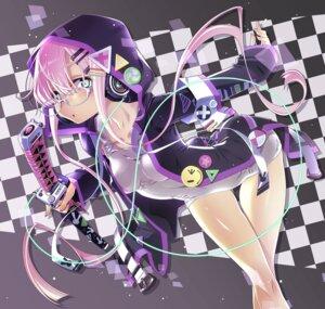 Rating: Safe Score: 26 Tags: headphones megane sakuya_tsuitachi school_swimsuit swimsuits sword User: BattlequeenYume