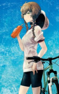 Rating: Safe Score: 32 Tags: amane_suzuha bike_shorts huke steins;gate User: demonbane1349