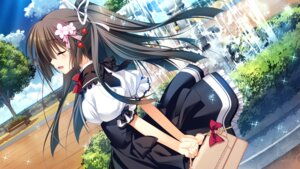 Rating: Safe Score: 97 Tags: front_wing game_cg innocent_girl nanaca_mai nanami_hinako seifuku User: Checkmate