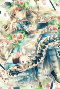 Rating: Safe Score: 35 Tags: alice alice_in_wonderland dress white_rabbit yumeichigo_alice User: Mr_GT