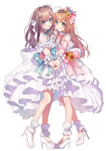 Rating: Safe Score: 33 Tags: dress heels nana_yume87 nijisanji symmetrical_docking User: hiroimo2