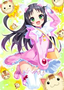 Rating: Safe Score: 27 Tags: bucchake dress haduki_kurumi kaitou_tenshi_twin_angel thighhighs twin_angel_break User: Mr_GT