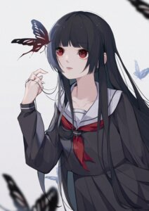 Rating: Safe Score: 11 Tags: enma_ai jigoku_shoujo seifuku suyi-j User: Dreista