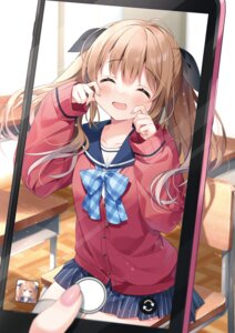 Rating: Questionable Score: 35 Tags: seifuku suimya sweater User: Twinsenzw