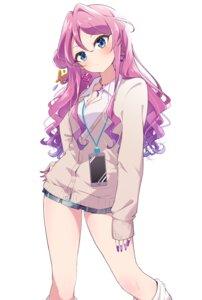 Rating: Safe Score: 29 Tags: aikatsu_friends! chouno_maika cleavage koukii seifuku sweater User: saemonnokami