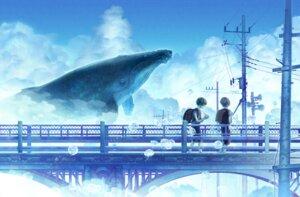 Rating: Safe Score: 13 Tags: landscape male mmaru seifuku User: charunetra