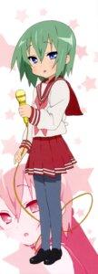 Rating: Safe Score: 11 Tags: iwasaki_minami lucky_star pantyhose seifuku stick_poster User: Share