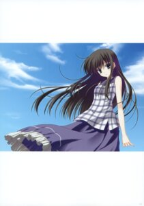 Rating: Safe Score: 17 Tags: dress garden kasuga_sakurako nanao_naru summer_dress User: crim
