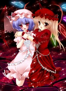Rating: Safe Score: 10 Tags: flandre_scarlet remilia_scarlet touhou wreathlit69 User: Riven