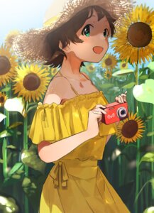 Rating: Safe Score: 10 Tags: dress kinoshita_hinata miratarosu summer_dress the_idolm@ster the_idolm@ster_million_live! the_idolm@ster_million_live!_theater_days User: leotard
