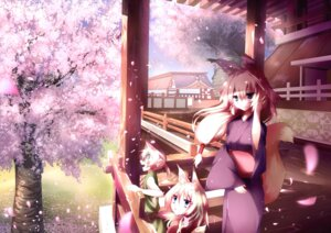 Rating: Safe Score: 24 Tags: animal_ears jebura kimono kitsune tail User: 椎名深夏