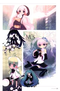 Rating: Safe Score: 9 Tags: black_rock_shooter black_rock_shooter_(character) hatsune_miku putidevil vocaloid User: Radioactive