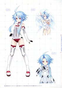 Rating: Safe Score: 18 Tags: bodysuit choujigen_game_neptune four_goddesses_online:_cyber_dimension_neptune kami_jigen_game_neptune_v thighhighs tsunako white_heart wings User: Radioactive