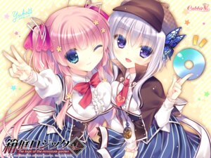 Rating: Safe Score: 51 Tags: cabbit hakoniwa_logic iriya_koko maezono_kirika seifuku wallpaper yukie User: edogawaconan