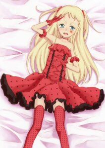 Rating: Questionable Score: 21 Tags: deburasu dress thighhighs User: Bulzeeb