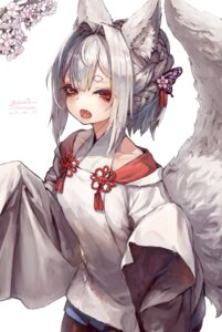 Rating: Safe Score: 17 Tags: animal_ears grin_grin japanese_clothes kitsune tail User: Mr_GT