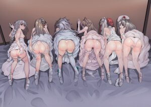 Rating: Explicit Score: 77 Tags: ass breasts censored chung_cthemax dress garter girls_frontline heels nipples no_bra pantsu panty_pull pussy skirt_lift thighhighs wedding_dress User: Mr_GT