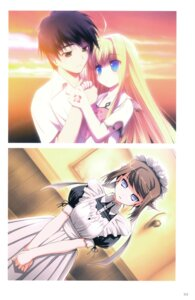 Rating: Safe Score: 9 Tags: akata_itsuki dragon_crisis! kisaragi_ryuuji maid rose_(dragon_crisis) User: blooregardo