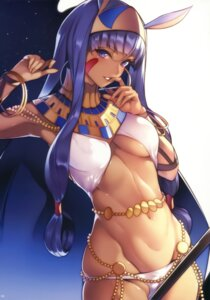 Rating: Questionable Score: 60 Tags: animal_ears bunny_ears cameltoe fate/grand_order nanao nitocris_(fate/grand_order) underboob User: kiyoe