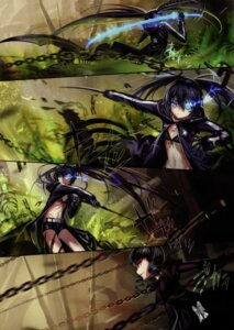 Rating: Safe Score: 17 Tags: alphonse bikini_top black_rock_shooter black_rock_shooter_(character) dead_master vocaloid white_datura User: Aurelia