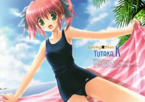 Rating: Safe Score: 18 Tags: ikegami_akane kobayakawa_yutaka lucky_star school_swimsuit swimsuits User: syaoran-kun