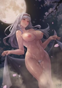 Rating: Explicit Score: 95 Tags: naked nipples onsen pubic_hair rebe11 shijou_takane signed the_idolm@ster the_idolm@ster_cinderella_girls towel watermark wet User: mash
