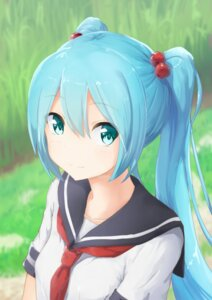 Rating: Safe Score: 63 Tags: abmayo hatsune_miku seifuku vocaloid User: hamasen205