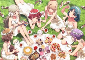 Rating: Safe Score: 10 Tags: cleavage dress sonsoso summer_dress the_idolm@ster User: hiroimo2