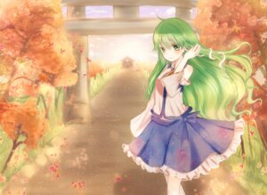 Rating: Safe Score: 22 Tags: kochiya_sanae shromann touhou User: Nekotsúh