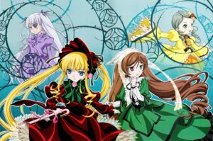 Rating: Safe Score: 10 Tags: barasuishou eyepatch heterochromia kanaria lolita_fashion rozen_maiden shinku suiseiseki User: Nosferatu