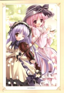 Rating: Safe Score: 14 Tags: cafe_little_wish lily lolita_fashion mina tinkle User: noirblack