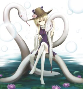 Rating: Safe Score: 28 Tags: cloudy.r mishaguji moriya_suwako thighhighs touhou User: Radioactive
