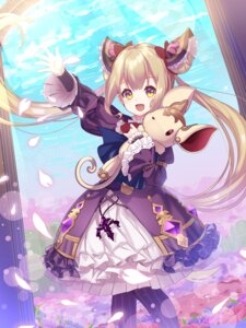 Rating: Safe Score: 25 Tags: dress lolita_fashion luna_(shadowverse) pantyhose shadowverse tagme User: Mr_GT