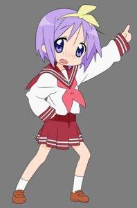 Rating: Safe Score: 10 Tags: hiiragi_tsukasa lucky_star seifuku transparent_png vector_trace User: Shuugo