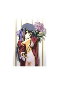 Rating: Questionable Score: 23 Tags: censored kimono kyougetsutei loli miyashita_miki no_bra nopan paper_texture User: crim