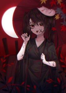 Rating: Safe Score: 24 Tags: blood hatsune_miku kimono reel37891 umbrella vocaloid User: Mr_GT